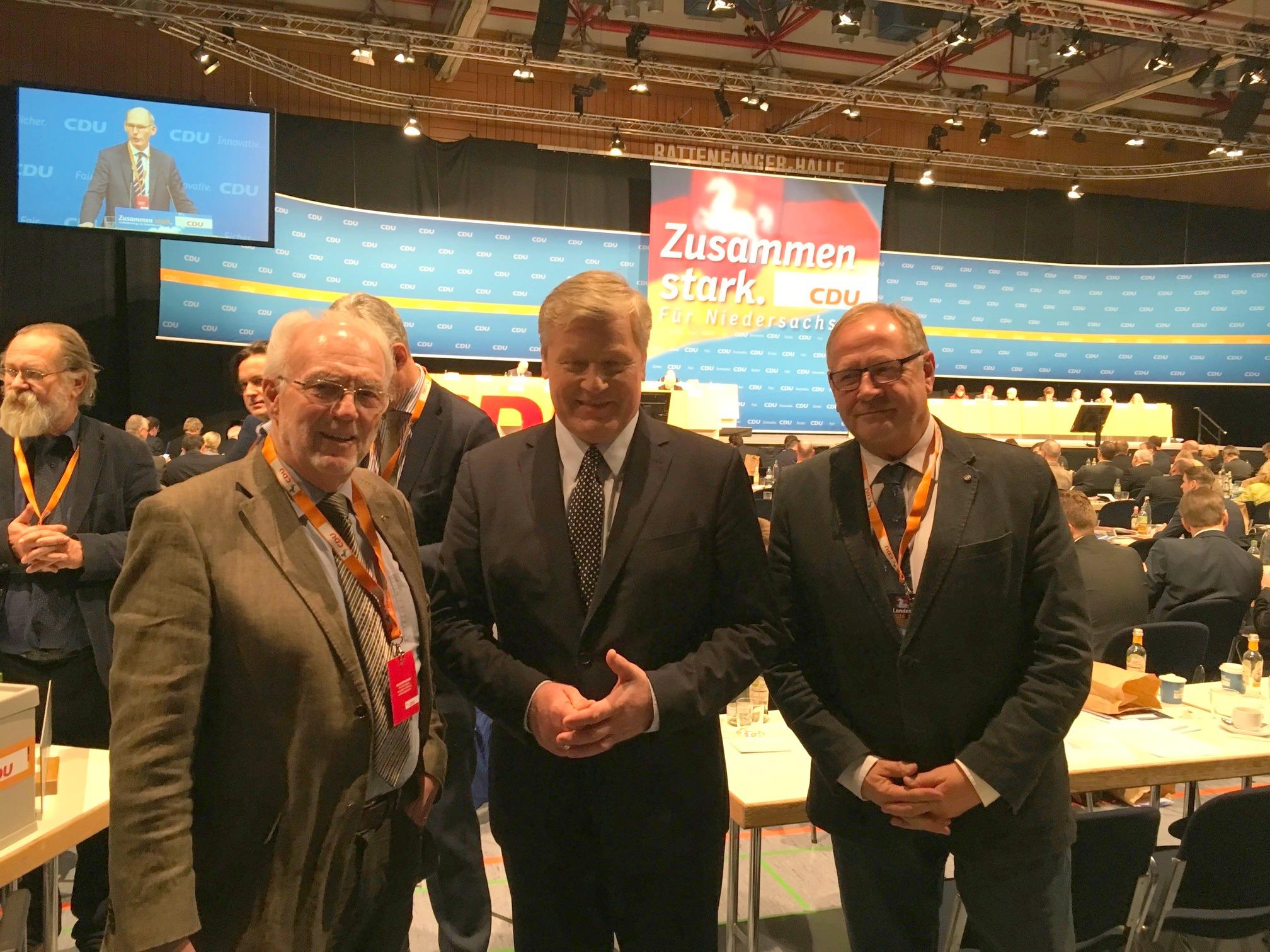 Landesparteitag der CDU in Hameln 2016
