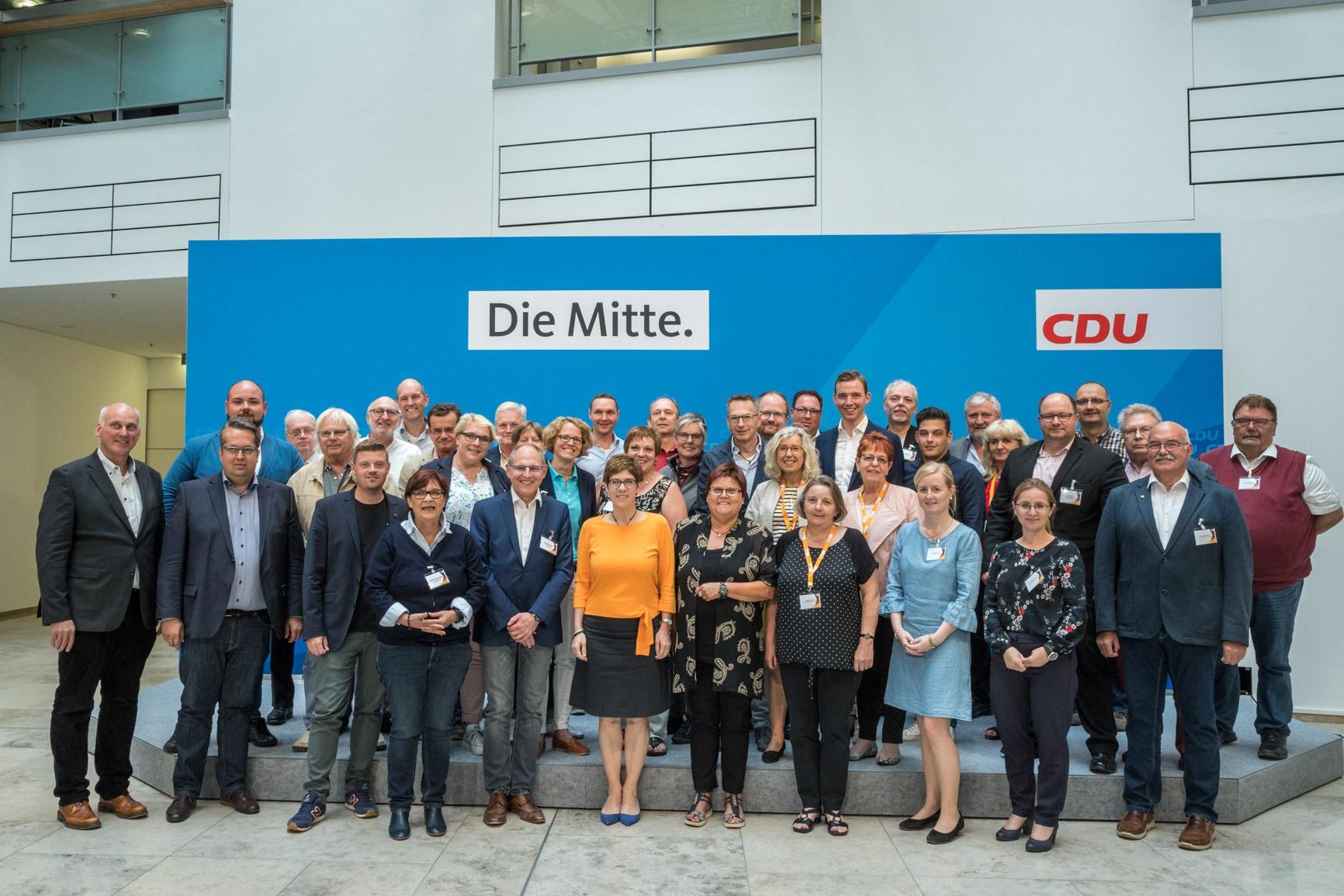 Darja Kröplin CDU Seminar in Berlin