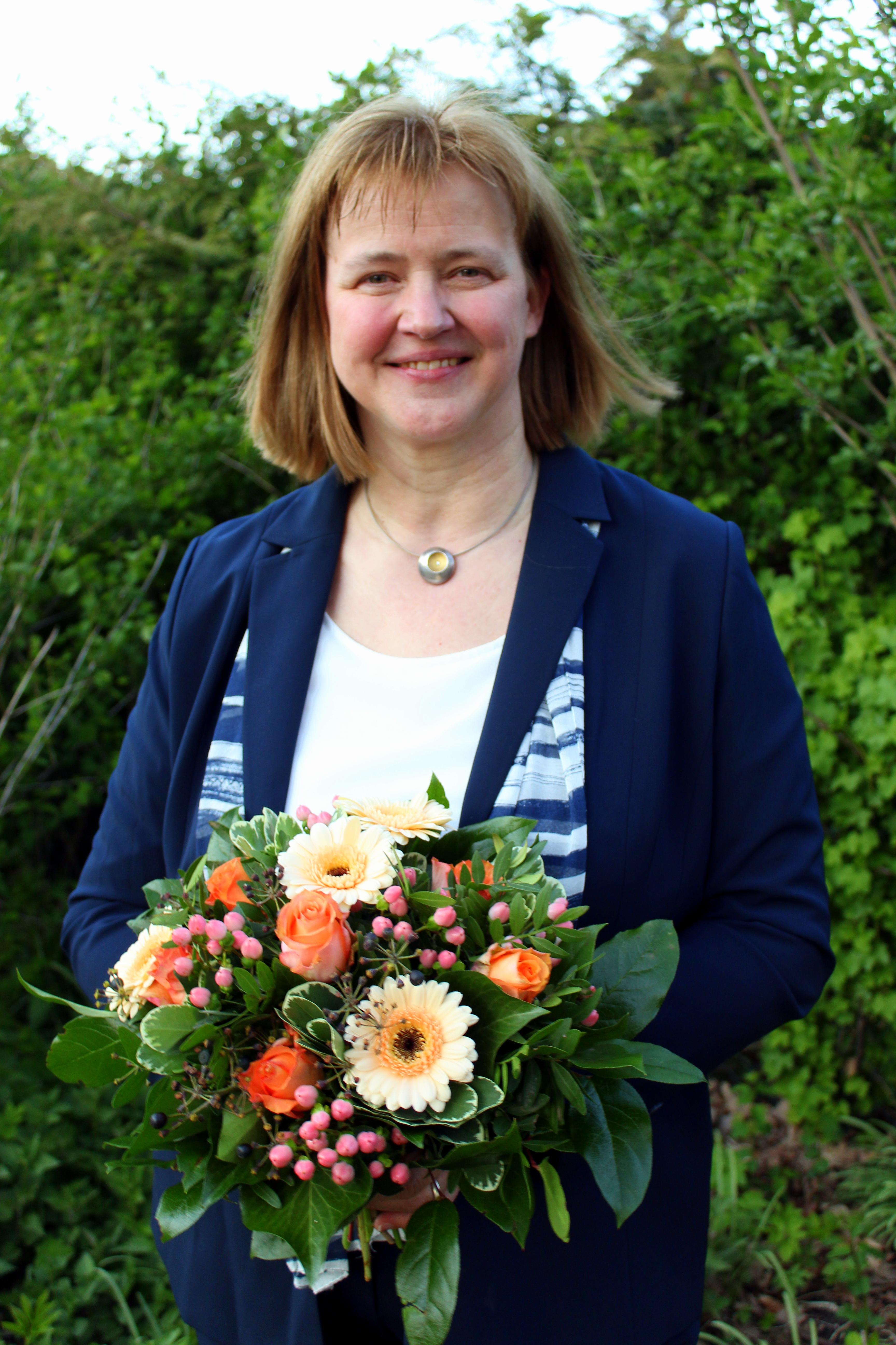 Anja Boettcher Bürgermeisterkandidatin Hohenhameln