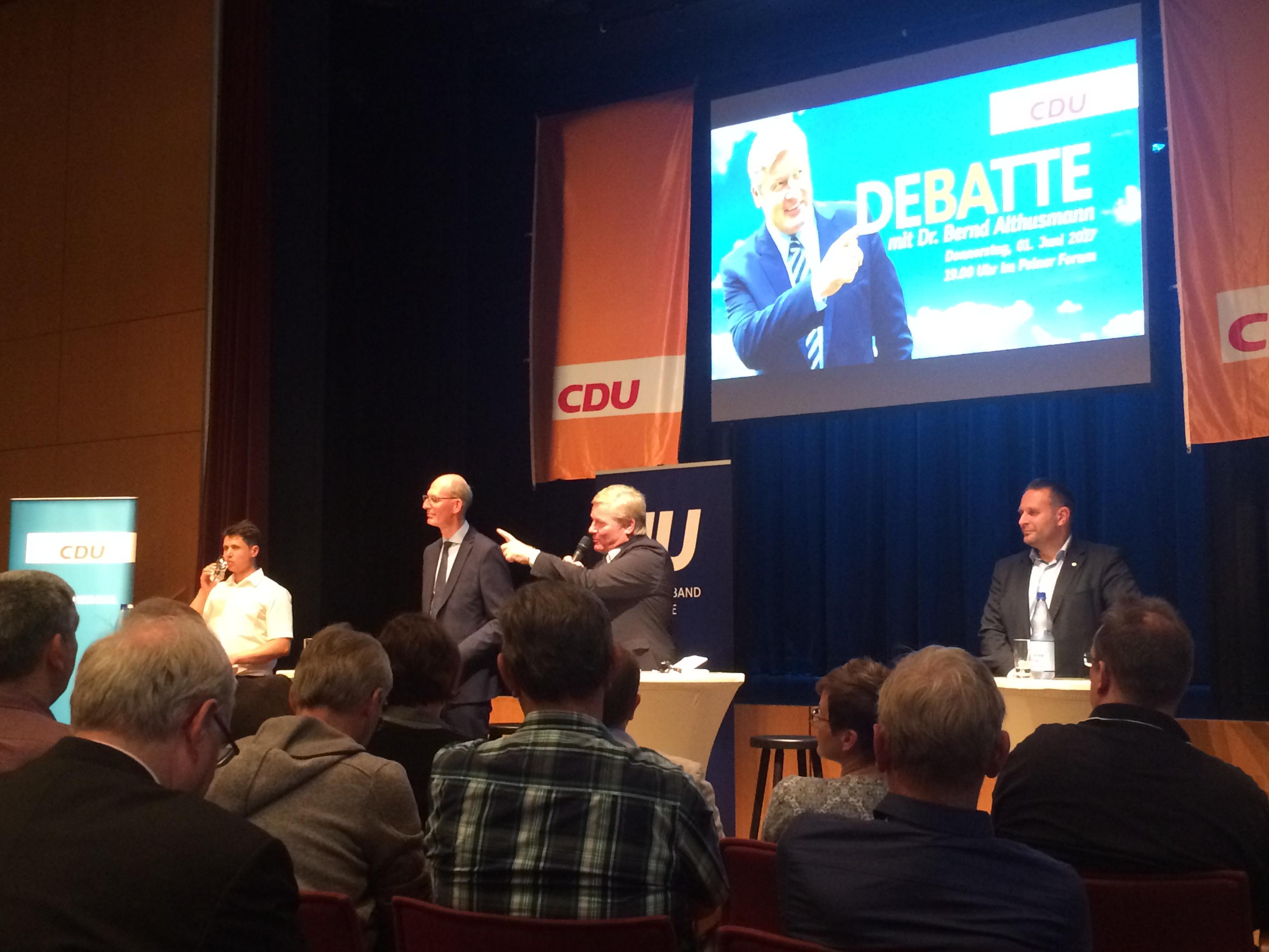 Bernd Althusmann beim CDU Kreisverband Peine