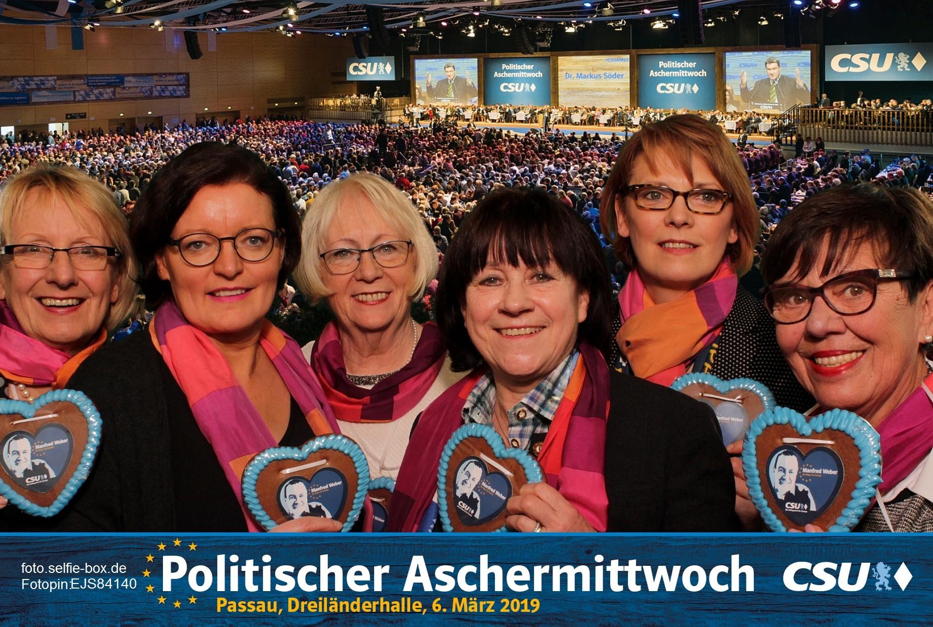 FU Frauen Union Peine beim Politischen Aschermittwoch in Passau